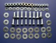 1955 1956 Chevy Front Bumper Mounting Hardware Set