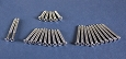 1955 1956 1957 Chevy Convertible Interior Trim Screw Set