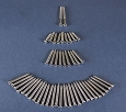 1956 1957 Chevy 4-Door Hardtop Interior Trim Screw Set