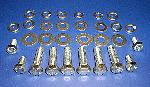 1957 Chevy Hood Hinge Hardware Kit Stainless Steel