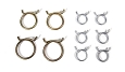 1957 Chevy Radiator & Heater Hose Clamp Set
