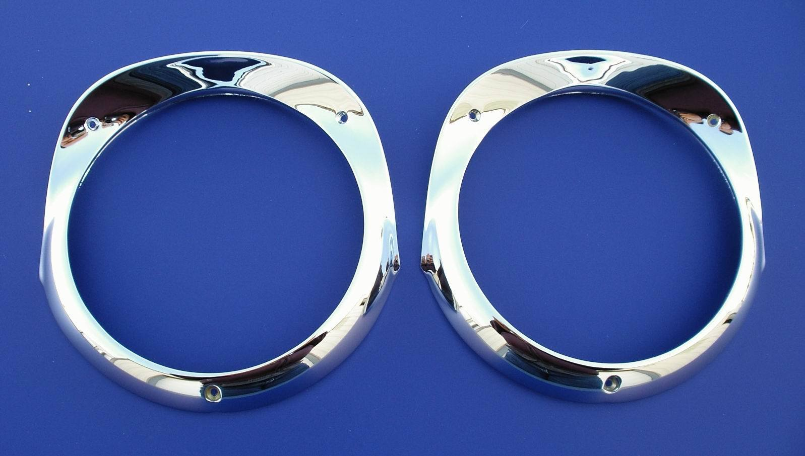1956 Chevy Headlight Bezels
