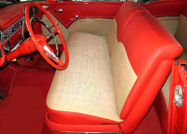 1955 Chevy Bel Air 2-Door Hardtop Seat Covers