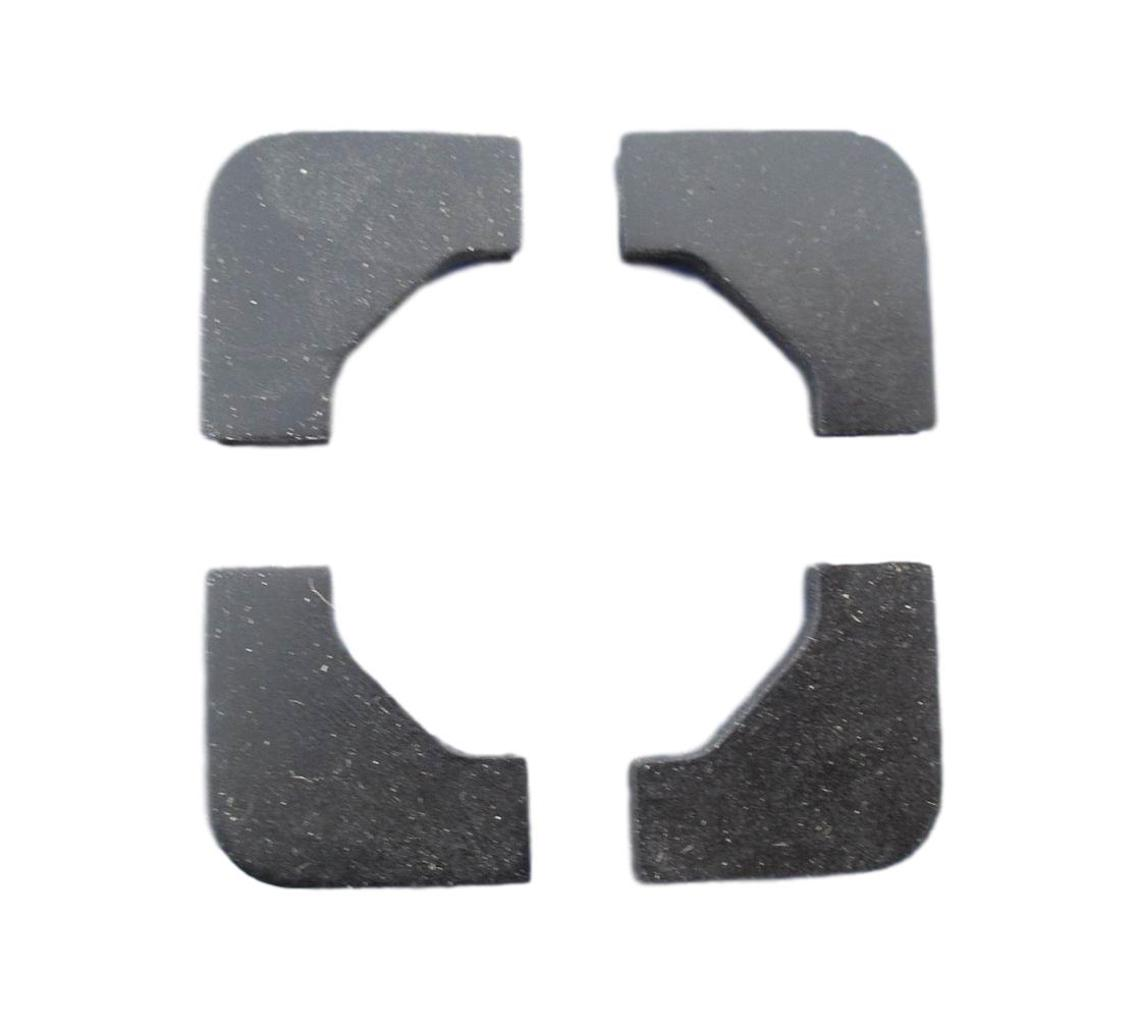 1955 1956 157 Chevy Battery Hold Down Rubber Pads