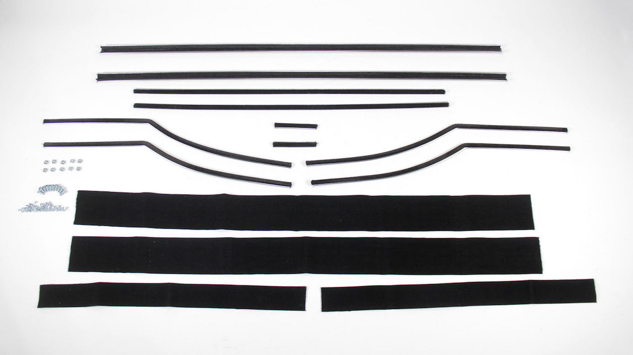 1955 1956 1957 Chevy Convertible Window Fur Channel Kit