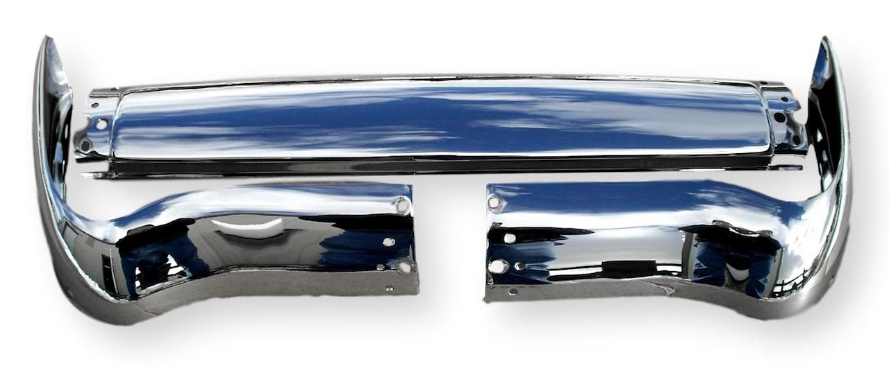 1955 Chevy Front Bumper Three Piece