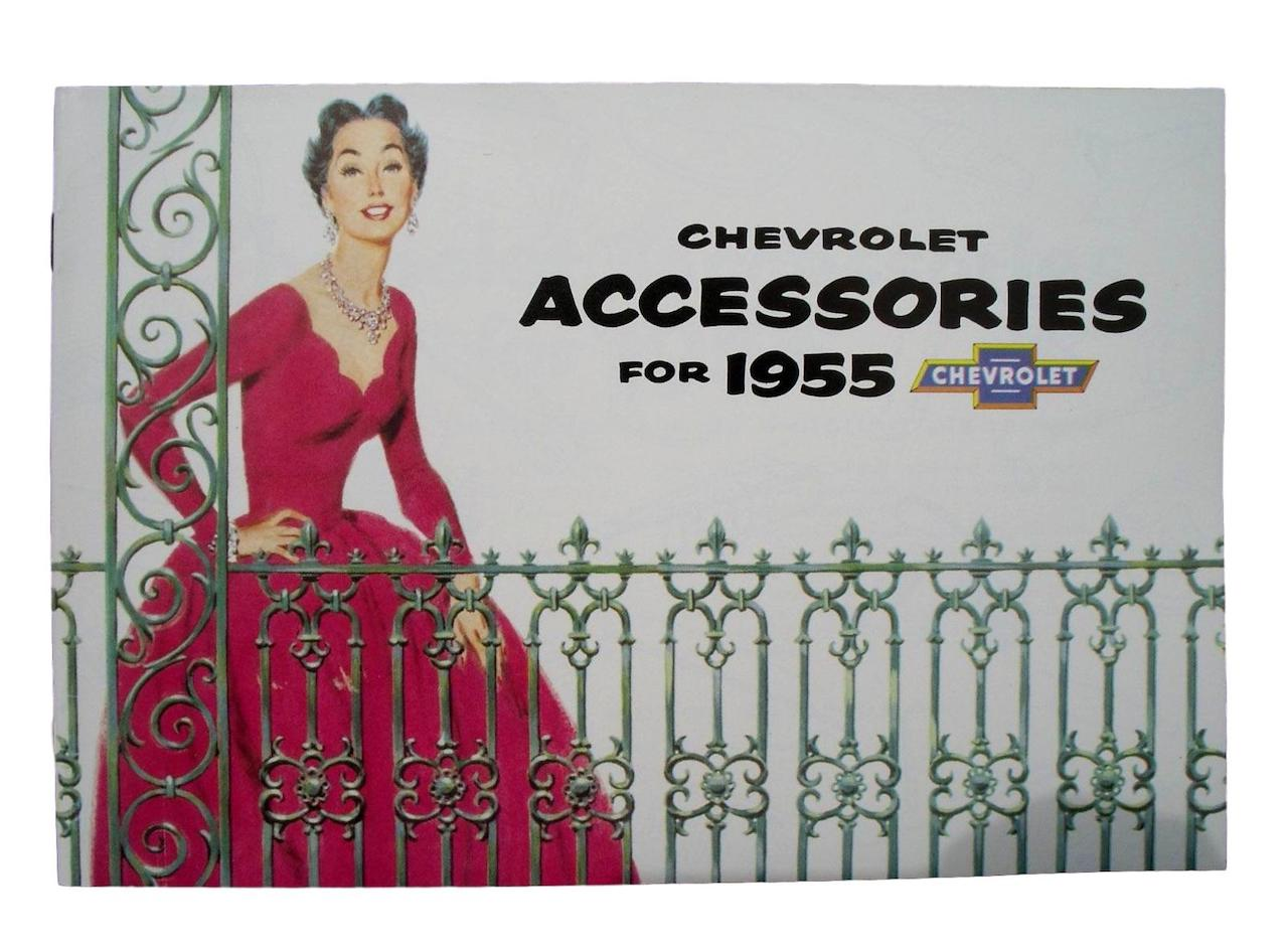 1955 Chevy Accessory Booklet