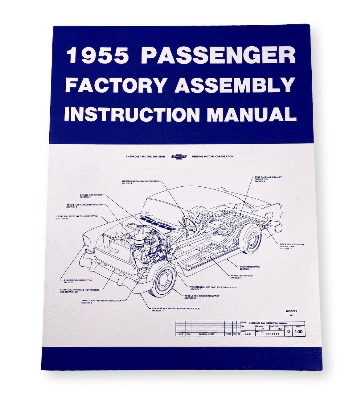 1955 Chevy Factory Assembly Manual