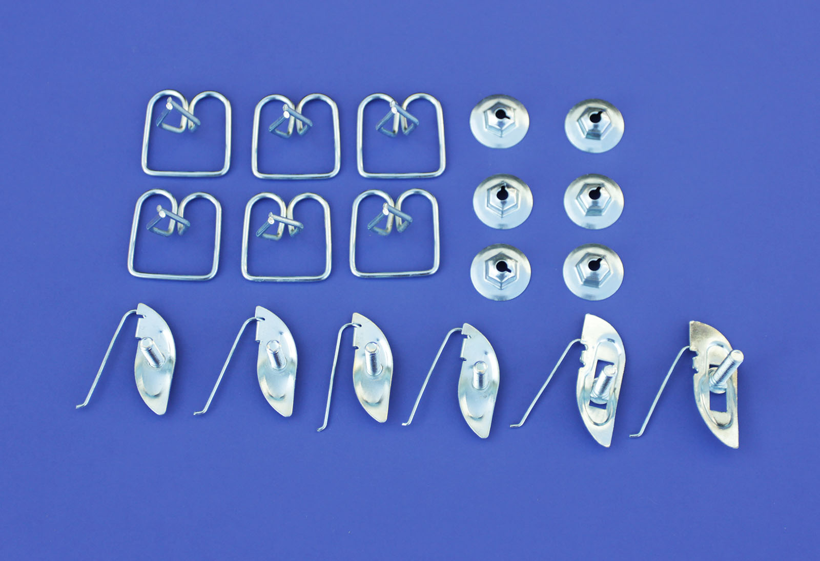 56 Chevy 210  Front Fender Molding Clips *NEW* 1956