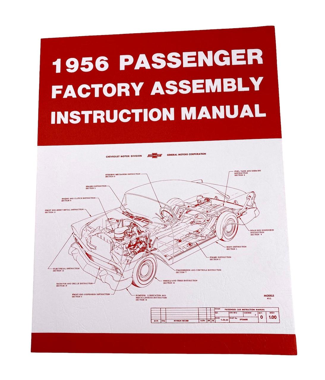 1956 Chevy Factory Assembly Manual