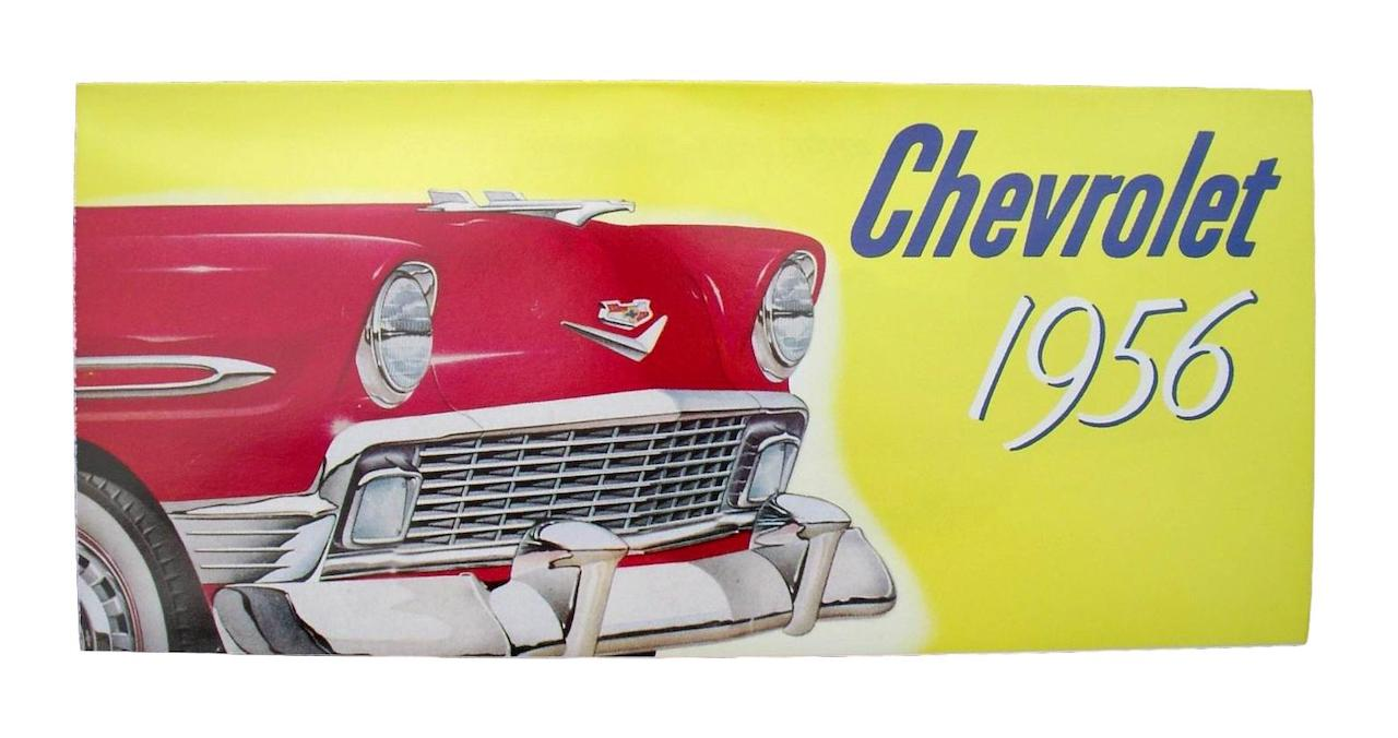 1956 Chevy Sales Brochure