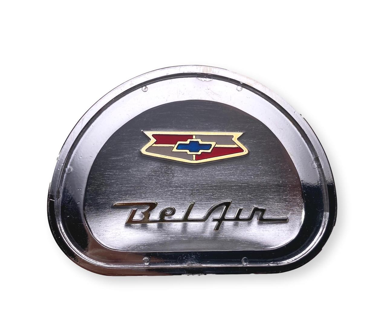 1957 Chevy Bel Air Horn Cap Emblem