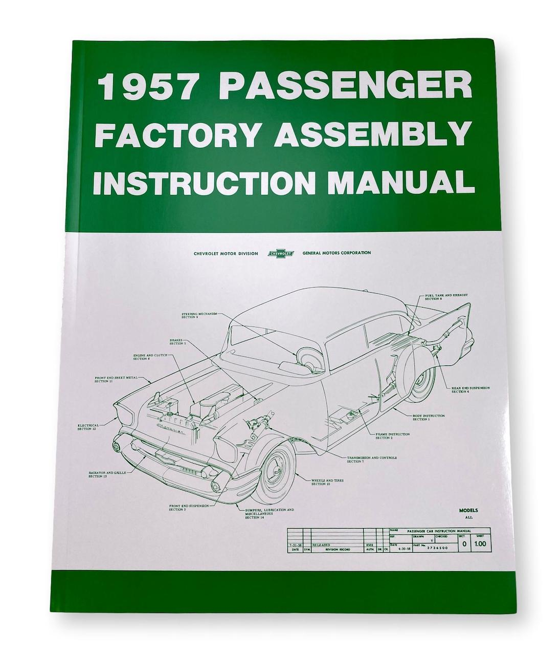 1957 Chevy Factory Assembly Manual