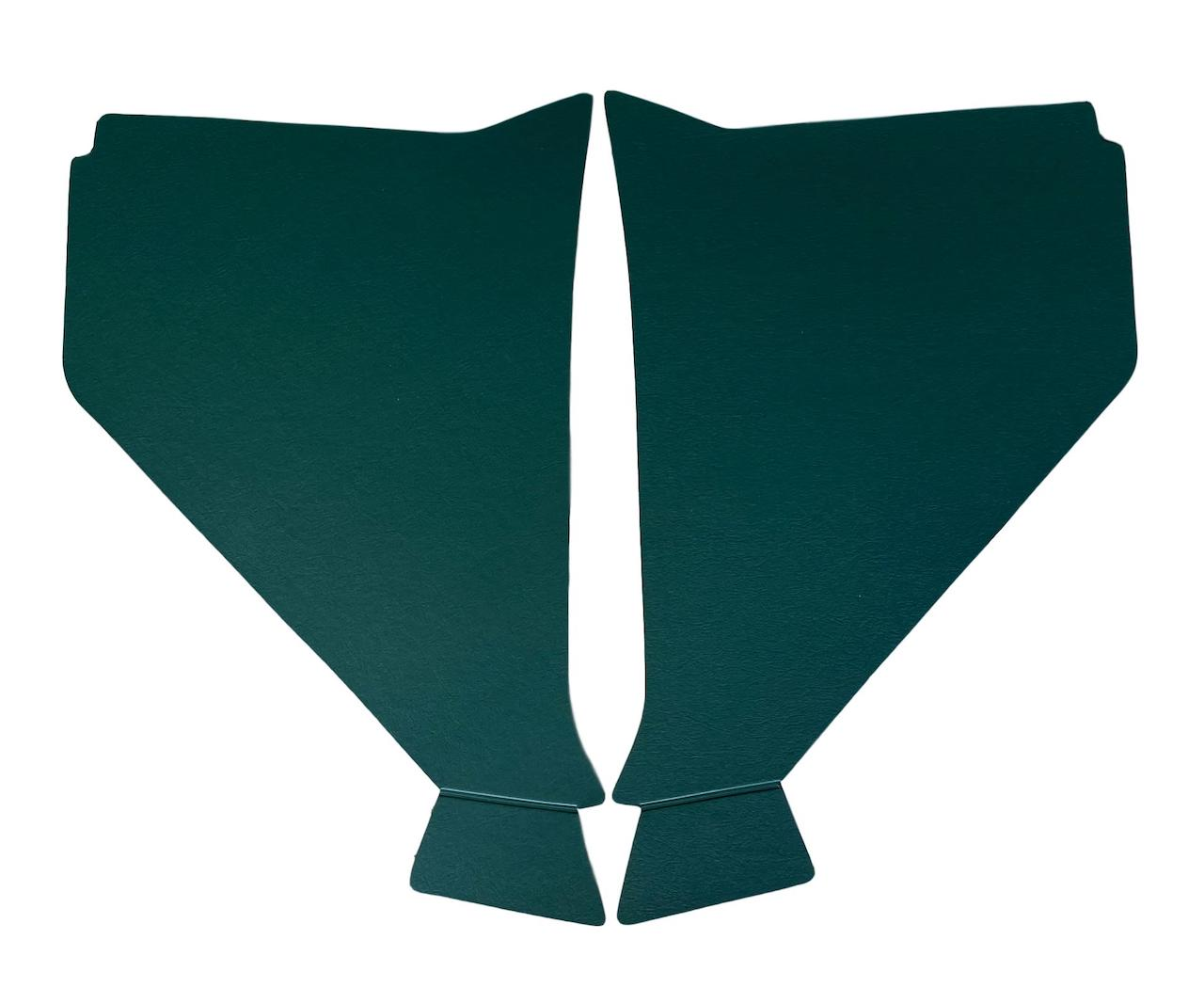 1957 Chevy Kick Panels Dark Green
