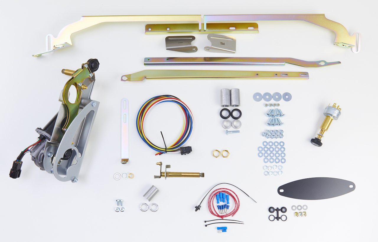 1957 Chevy Raingear Wiper Kit With 2-Speed Switch