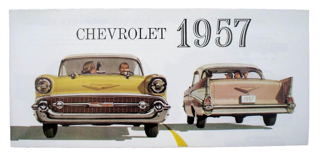 1957 Chevy Sales Brochure