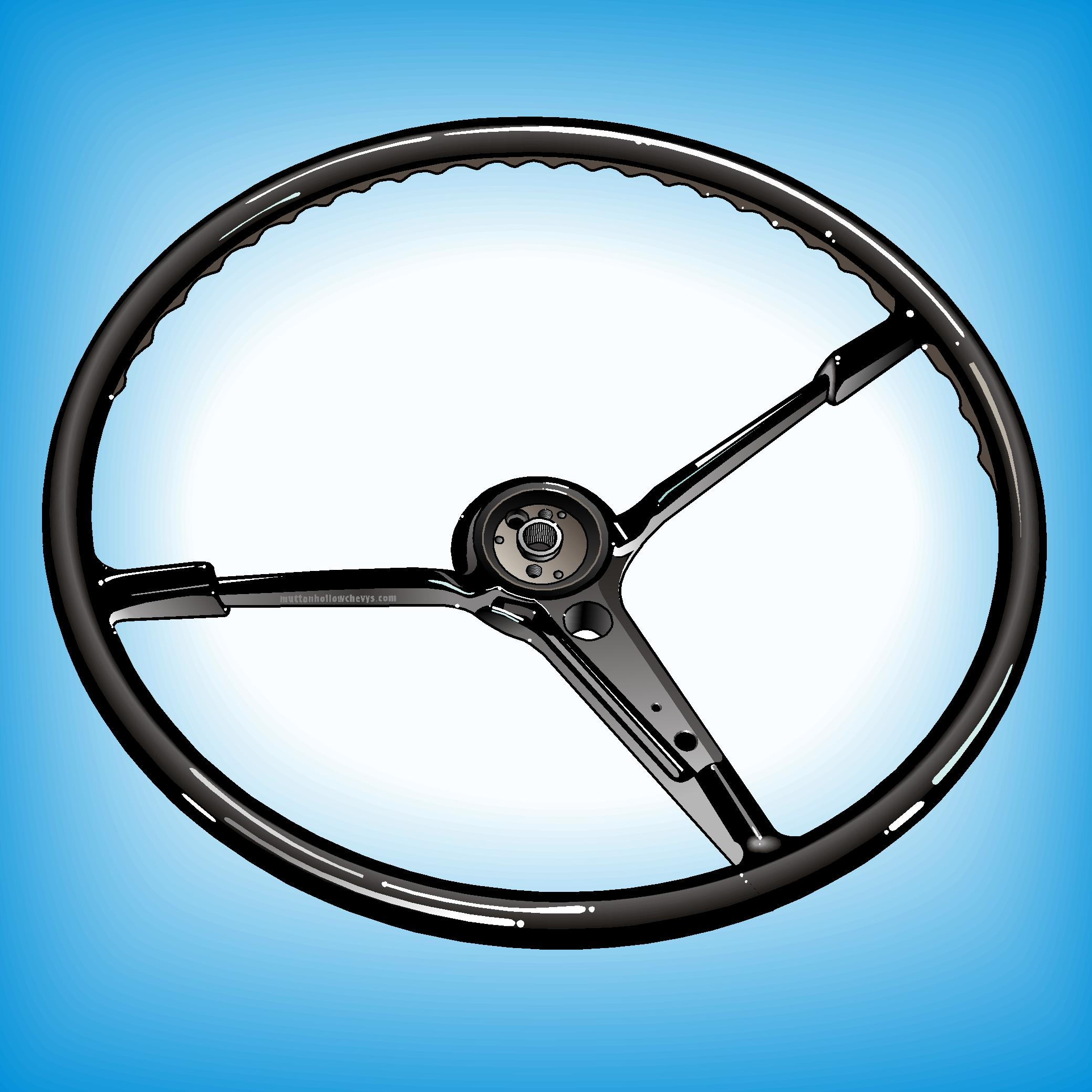 Steering Wheels, Horn Rings & Horn Emblems