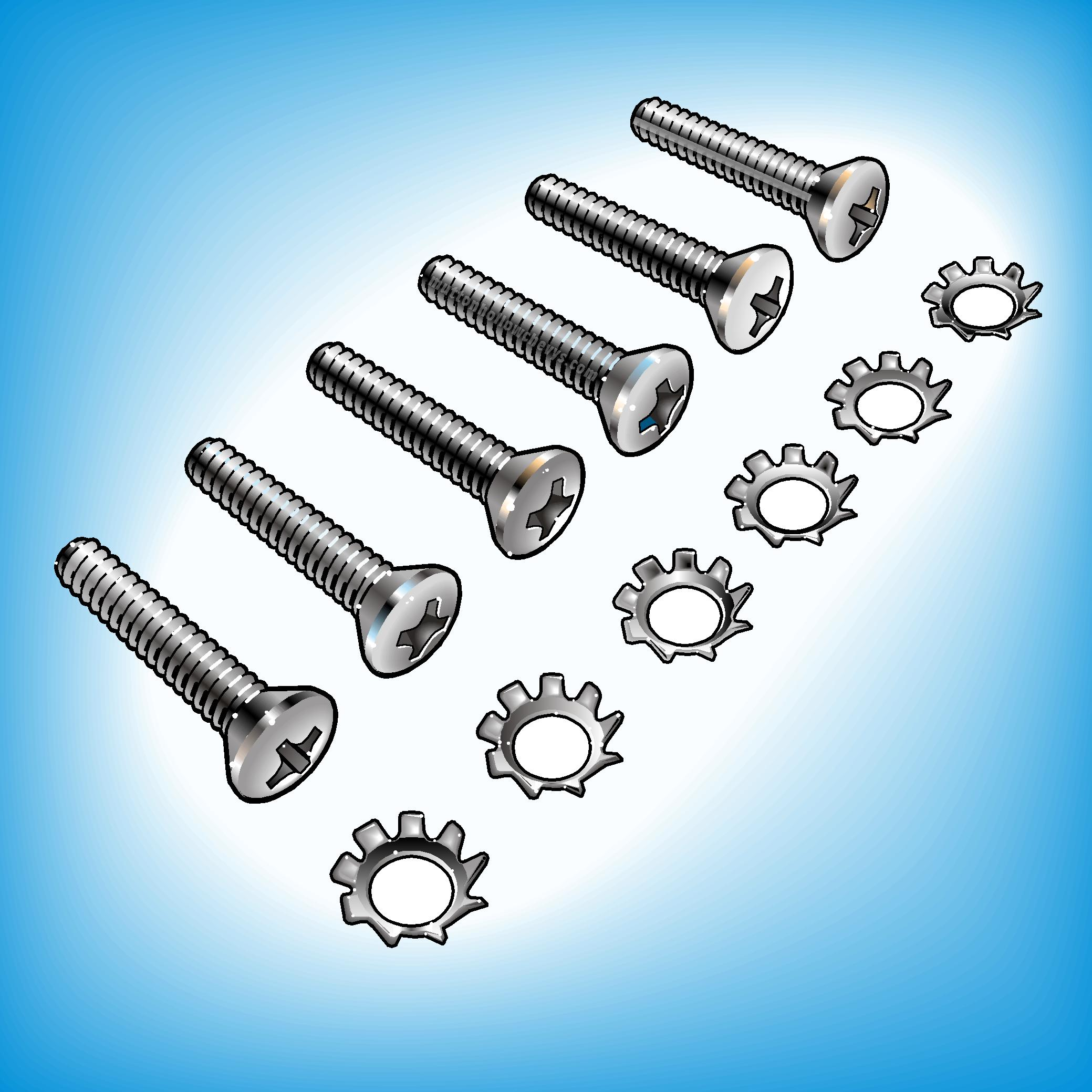 Bolts, Clips & Screws