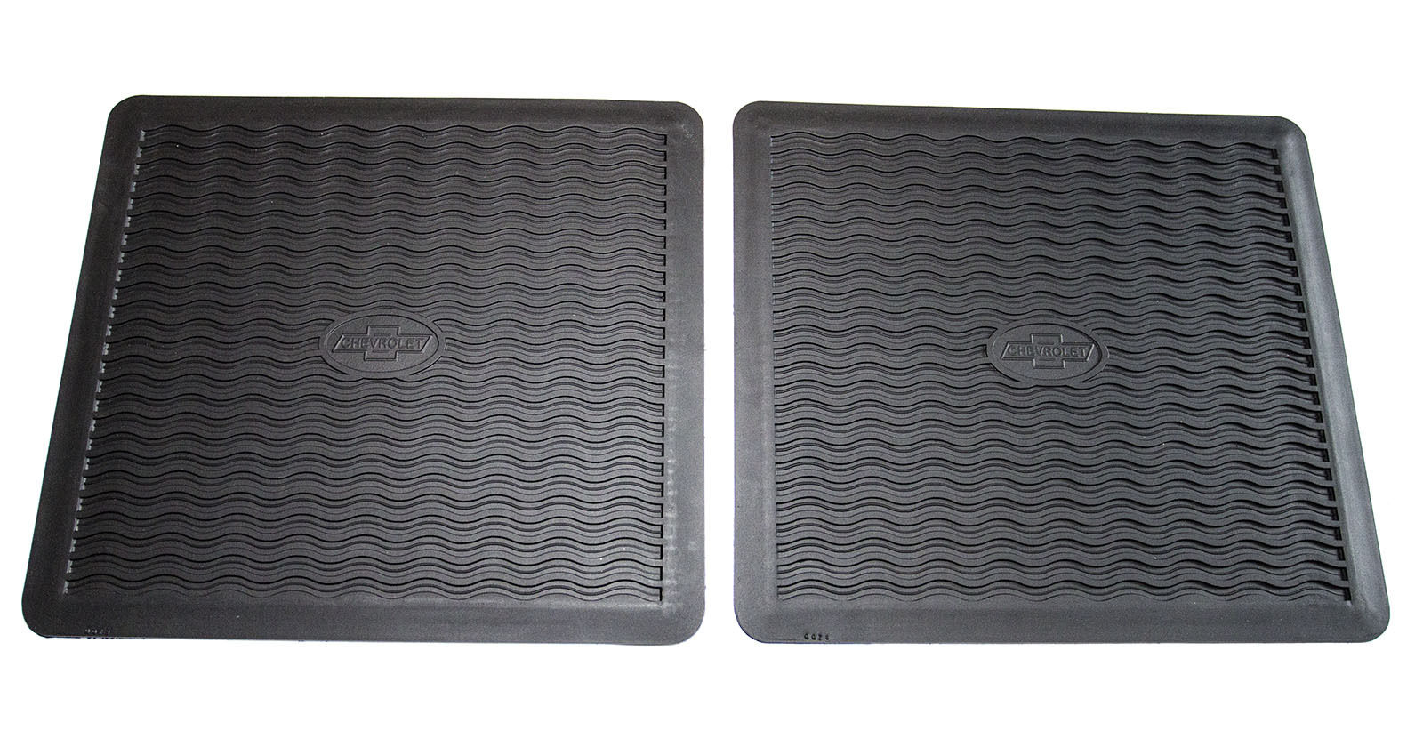 1955 1956 Chevy Factory Accessory Floor Mats BLACK