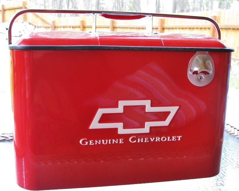 Chevy Cooler Genuine Chevrolet RED