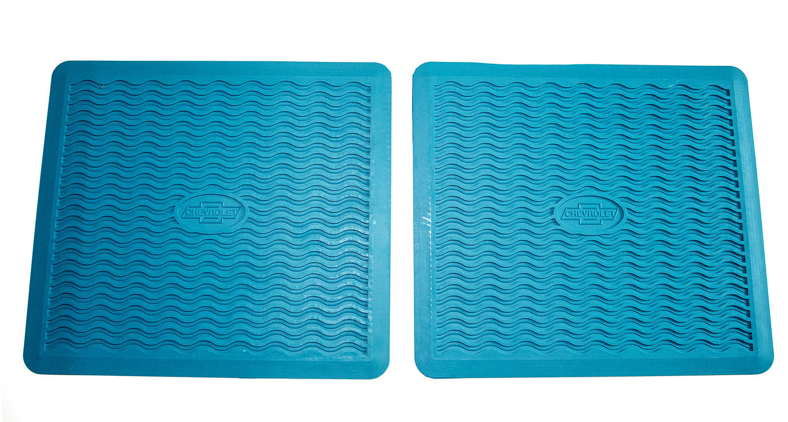 1955 1956 Chevy Factory Accessory Floor Mats TURQUOISE