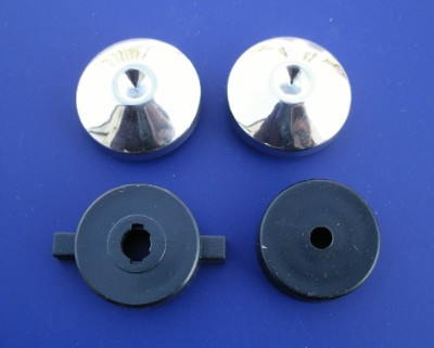 1955 Chevy Radio Knob Set for Standard or Dial Radio