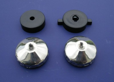 1956 Chevy Radio Knob Set for Standard or Dial Radio