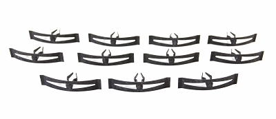 1955 1956 Chevy Firewall To Hood Seal Clip Set
