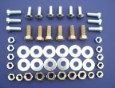 1957 Chevy Rear Bumper Mounting Hardware Set