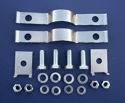 1955 Chevy Accessory Bumper Grille Guard Hardware Kit