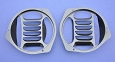 1957 Chevy Fresh Air Vent Grilles Pair