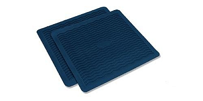 1955 1956 Chevy Factory Accessory Floor Mats BLUE