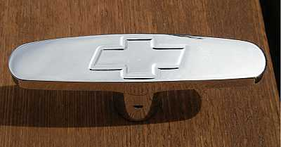 1955 1956 1957 Chevy Billet Emergency Brake Handle With Bowtie