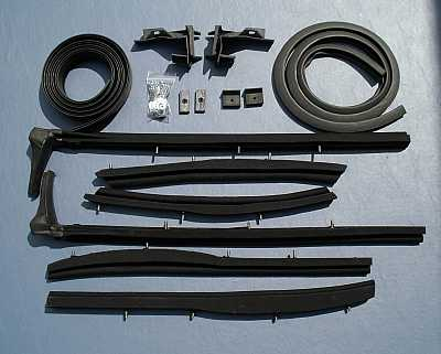 1955 1956 1957 Chevy Convertible Top Weatherstrip Kit