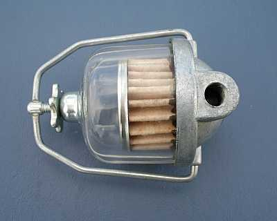 1955 1956 1957 Chevy Glass Bowl Fuel Filter AC