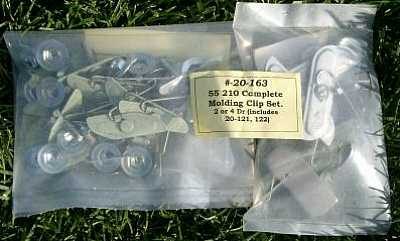 1955 Chevy 210 Moulding Clip Set
