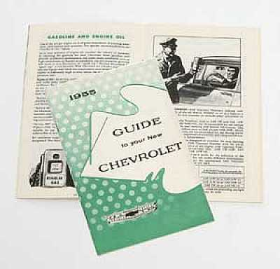 1955 Chevy Owner's Manual