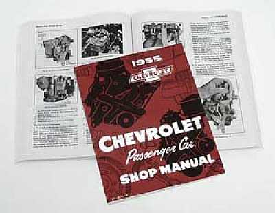 1955 Chevy Shop Manual