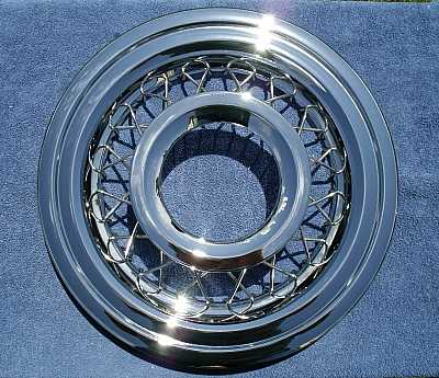1956 Chevy Wire Wheel Covers