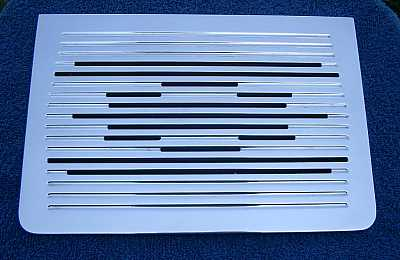 1957 Chevy Billet Radio Speaker Grille Cover