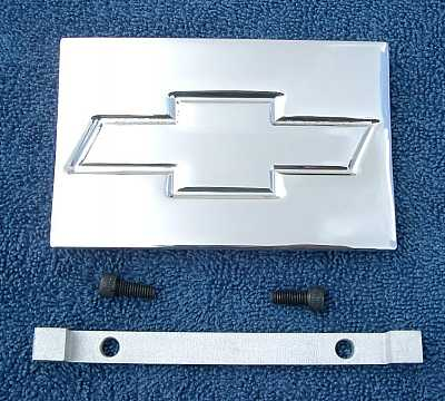 1957 Chevy Clock Delete Panel With Bowtie