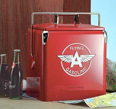 Classic Flying A Gasoline Picnic Cooler