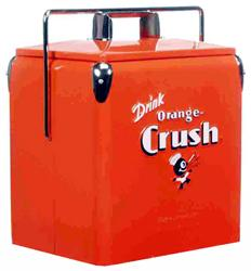 Classic Orange Crush Picnic Cooler