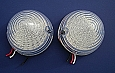 1956 Chevy LED Taillight Lenses Clear