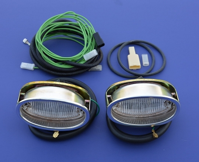 1957 Chevy Back Up Light Assembly