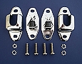 1955 1956 1957 Chevy Nomad & Wagon Rear Seat Latches *CHROME*