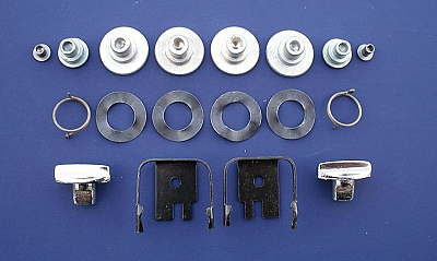 1955 1956 1957 Chevy Nomad & Wagon Liftgate Arm Rebuild Kit