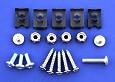 1957 Chevy Deluxe Heater Bezel Assembly Fastener Kit