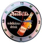 Nesbitt's Double Bubble Glass Clock