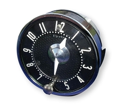 1958 1959 1960 1961 1962 Corvette Quartz Clock Black Face